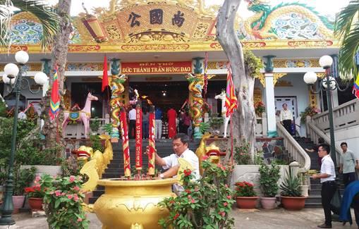 Top 5 lễ hội ở Vũng Tàu thu hút khách du lịch - giỗ Đức Thánh Trần Hưng Đạo.