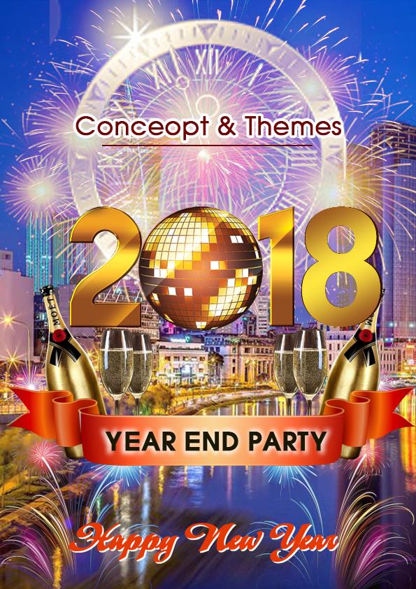 chương trình year end party 1