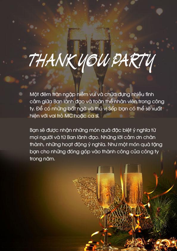 chương trình year end party 8