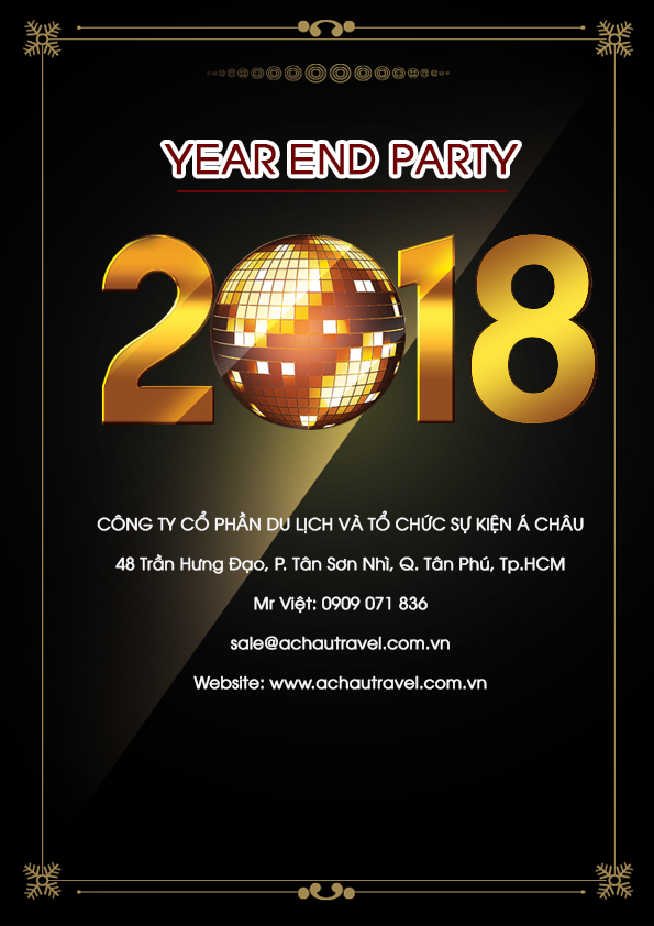 chương trình year end party 9